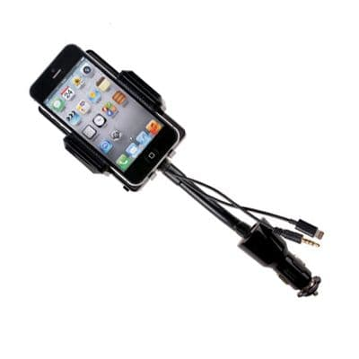 FM Transmitter Hands Free Charger Car Holder for iPhone 5 Ipod Blackberry HTC